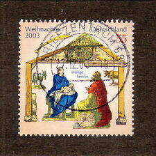 Germany--#B929 Used--Christmas/Holy Family--2003