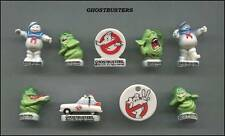 AMAZING MINIATURE GHOSTBUSTER FIGURINE SET, STAY PUFT MARSHMALLOW MAN *MINT*