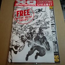 X-O Manowar #50 1:50 Black and White VARIANT cover VALIANT Bagged NM