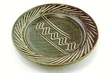 A Fitzgerald Pottery bowl/charger. American studio pottery. Stoneware.