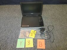 "PHILIPS PORTABLE DVD PLAYER TRAVEL 9"" TFT LCD TESTED WORKS 5 HR HEADPHONE USED"