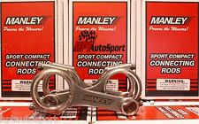 Manley H-Beam Connecting Rods Toyota Supra MKIV 2JZ-GTE
