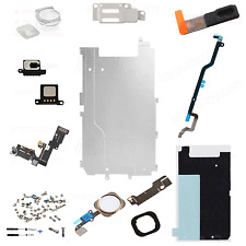 FULL LCD DISPLAY 12PC REPAIR PARTS FOR IPHONE 6 4.7 HOME BUTTON CAMERA SPEAKER G