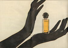 Publicité Advertising 1971  ( Double page )  Parfum AUDACE de ROCHAS