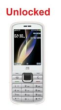 "ZTE F286 White 2.4"" Camera 3G Mobile Phone *UNLOCKED* Bluetooth"