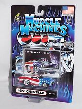 Funline Muscle Machines September 11, 2001 Tribute '69 Chevelle Stars & Stripes