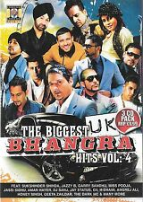 THE BIGGEST UK BHANGRA HITS VOL 4 (SUKSHINDER SHINDA,JAZZY B,GURDAS MAAN) 3CDs