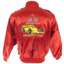 Vintage 80s Racing Jacket Men M Snap on Pennzoil Swingster Usa Made