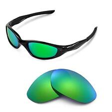 WL Polarized Emerald Gold Replacement Lenses For Oakley Minute 2.0 Sunglasses