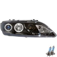 Set Fanali Mazda 6 GY GG anno fab. 02-08 LED CCFL Angel Eyes klar nero ZB3