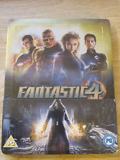 Fantastic Four 4 Blu-Ray Steelbook [UK] Region B Marvel Super Heroes Sealed Mint