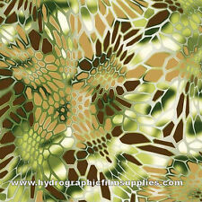 HYDROGRAPHIC FILM WATER TRANSFER PRINTING FILM HYDRO  GOLDEN BROWN HEX CAMO 1SQ
