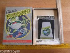 Frogger 1982 Atari 2600 game in box Parker Brothers boxed