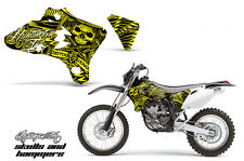 AMR Racing Yamaha YZ 250F/450F Shroud Graphic Kit MX Bike Decals 03-05 HISH YLLW