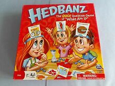 """""""HEDBANZ""""-CARDS GAME-THE SILLY GUESSING GAME-WHAT AM I ?by SPIN MASTER,100%,NICE"""