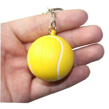 Softball 4cm Ball Basketball Volleyball Football Tennis Charm Keychain Pendant