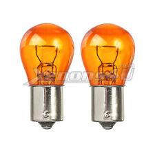 2x amber turn signal clignotant indicateur arrière Avant Ampoules BAU15S PY21W