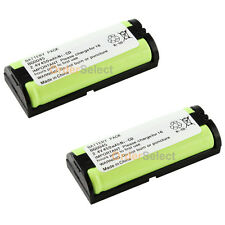 2 Cordless Phone Battery 450mAh NiCd for Panasonic HHR-P105 HHR-P105A TYPE 31