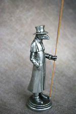 Birdman Plague Doctor Incense Burner - Pewter Incense Holder Lorme Schnabel