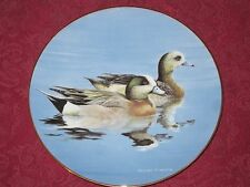 WIGEON DUCK collector plate WILLIAM MORRIS Bradford Exchange FEDERAL DUCK STAMP