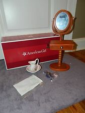 """American Girl Doll Marie Grace Cecile Vanity Set and Accessories 18"""" Doll NIB!"""