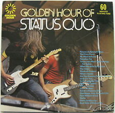Golden Hour Of STATUS QUO 1973 UK ORG LP MINTY! MINTY! Francis Rossi