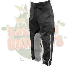 Frogg Toggs Reflective Toadskinz Motorcycle Pants Heat Resistant inner Legs XL
