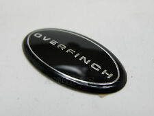 RANGE ROVER FREELANDER 2 GENUINE OE OVERFINCH STEERING WHEEL BADGE EMBLEM LOGO