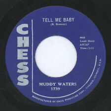 MUDDY WATERS: Tell Me Baby / Recipe For Love 45 Blues & R&B
