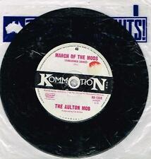 "THE AULTON MOB - MARCH OF THE MODS - RARE 7"" 45 SAMPLE VINYL RECORD - 1966"