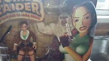 Playmates 1999 Tomb Raider Action Figure - Lara Croft Conquers Yeti Sealed Boxed