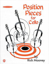 """SUZUKI """"POSITION PIECES FOR CELLO"""" MUSIC BOOK BY RICK MOONEY BRAND NEW ON SALE!!"""