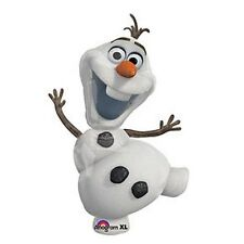 """Disney Frozen Balloon Party Olaf 23"""" One (1) Double Sided Mylar Giant"""