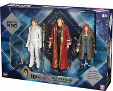 BBC Doctor Who Series Four  3 Figure Set, River Song, Narrator, Donna Noble