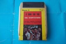 "THE TEMPTATIONS "" A SONG FOR YOU "" MUSICASSETTA STEREO 8 NEW SEALED"