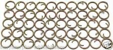 """Small Mil Spec 7/16"""" = 13mm Zinc Button Rings fasteners NO SEW lot of 50 B115"""