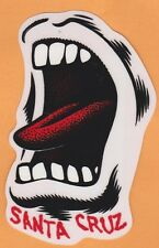 Santa Cruz Screaming Mouth Skateboard Sticker (Limited Edition)