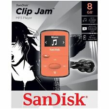 SanDisk Sansa Clip Jam 8GB MP3 Player ORANGE