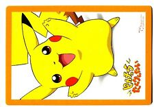 PROMO POKEMON JAPANESE CARD PIKACHU THE MOVIE 1999 TV TOKYO SHOPRO (Glossy)