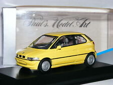 Minichamps 1991 BMW E1 Concept Pale Yellow 1/43