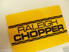 RALEIGH CHOPPER MK 1 SEAT PLATE DECAL - CHOPPER SEAT STICKER