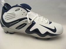 Nike Mens Air Zoom Apocalypse IV Football Cleats 14 White Navy Blue 310962-141