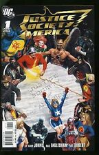 JUSTICE SOCIETY OF AMERICA  #1-54 NEAR MINT COMPLETE SET 2007 w/ ANNUALS #1+2