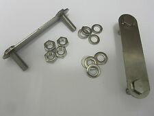 CLASSIC ROVER MINI STAINLESS FRONT REAR SUBFRAME TO FLOOR FITTINGS