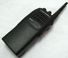 Motorola GP340 Two-Way Radio UHF 403-470 Mhz 4W 16 Channels W/O BATTERY