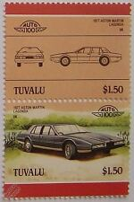 1977 ASTON MARTIN LAGONDA Car Stamps (Leaders of the World / Auto 100)