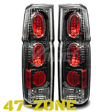For Nissan Hardbody D21 Pick Up Altezza Black Housing Clear Lens Tail Light Lamp