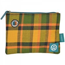 VW CAMPER VAN UPHOLSTERY MULTI PURPOSE ZIPPED POUCH TOILETRY SHAVING BAG MAKEUP