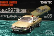 [TOMICA LIMITED VINTAGE NEO ABUNAI VOL.05] NISSAN LEOPARD ULTIMA POLICE (Gold)