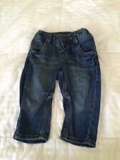 H&M Baby Boy Jeans 6-9 months old w/adjustable straps